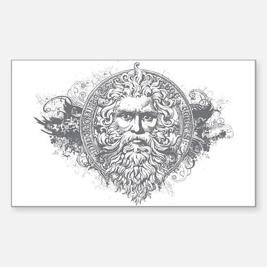 Greek Mythology Rectangle Decal