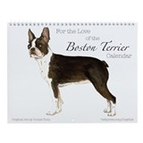 Boston terrier Wall Calendars