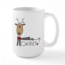 Dasher Large Lefty Mug