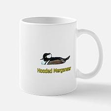 Hooded Merganser (titled) Mug