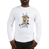 Reindeer Long Sleeve T-shirts