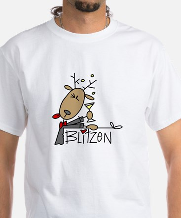 Blitzen White T-Shirt