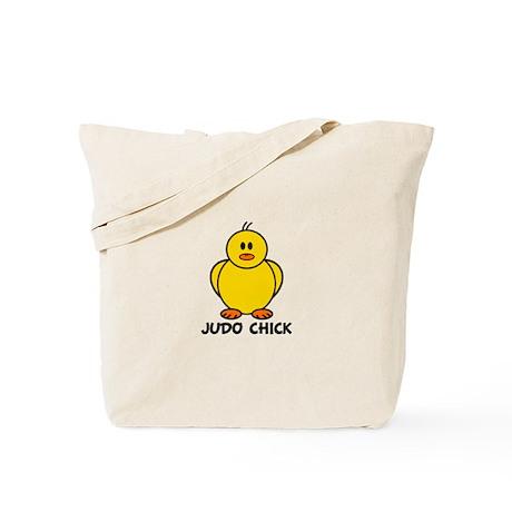 Judo Chick Tote Bag