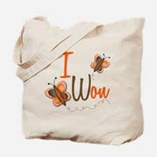 I Won 1 Butterfly 2 ORANGE Tote Bag