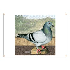Loft Homer Pigeon Banner