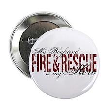 """Boyfriend My Hero - Fire & Rescue 2.25"""" Button"""