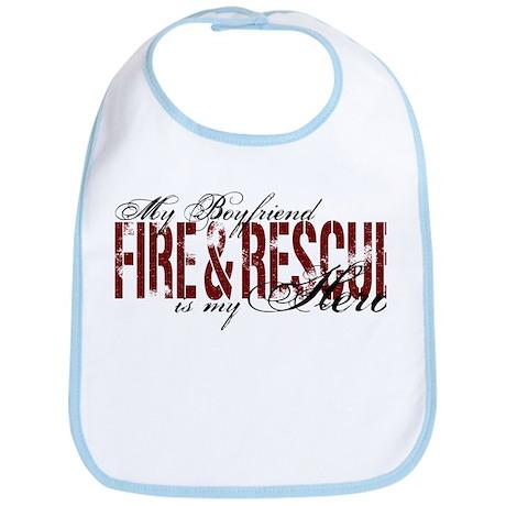 Boyfriend My Hero - Fire & Rescue Bib