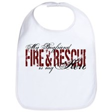 Boyfriend My Hero - Fire & Rescue Bib