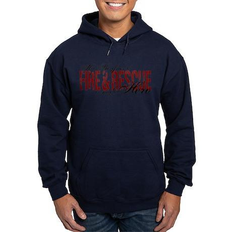 Boyfriend My Hero - Fire & Rescue Hoodie (dark)