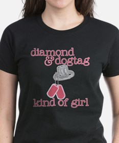 DIAMONDS AND DOGTAGS Tee