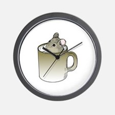 Coffee Mouse Wall Clock