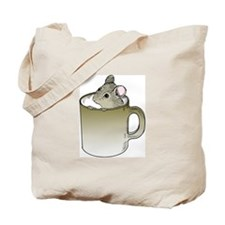 Coffee Mouse Tote Bag