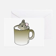 Coffee Mouse Greeting Cards (Pk of 10)