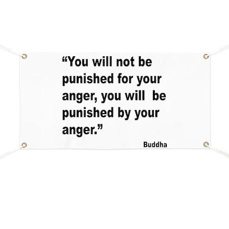 Buddha Anger Quote Banner