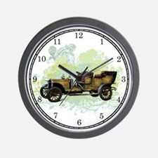Vintage Touring Car Wall Clock