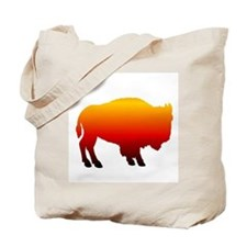 Buffalo Sunset Tote Bag