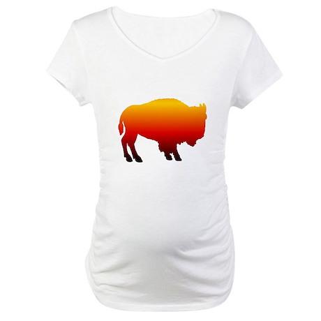 Buffalo Sunset Maternity T-Shirt