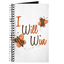 I Will Win 1 Butterfly 2 ORANGE Journal