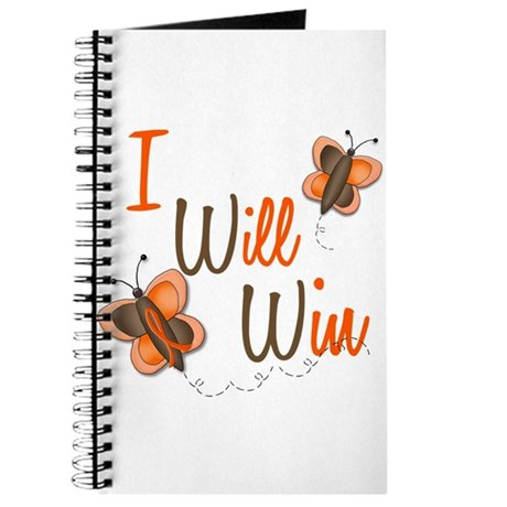 I Will Win 1 Butterfly 2 ORANGE Journal