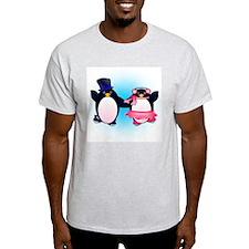 Penguin Pair Skate T-Shirt
