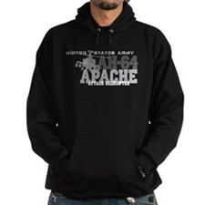 Army Apache Helicopter Hoodie