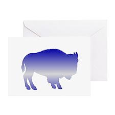 Buffalo Winter Greeting Card