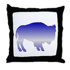 Buffalo Winter Throw Pillow