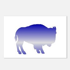Buffalo Winter Postcards (Package of 8)
