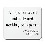 Walt Whitman 20 Mousepad