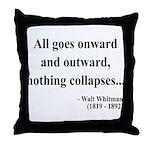 Walt Whitman 20 Throw Pillow