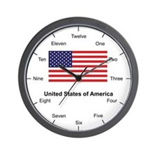 America Pride Wall Clock