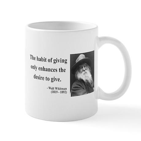 Walt Whitman 21 Mug
