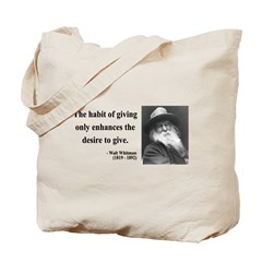 Walt Whitman 21 Tote Bag
