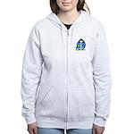 Bowling Penguin Women's Zip Hoodie
