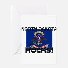 North Dakota Rocks! Greeting Card