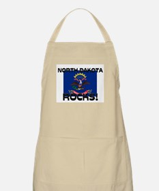 North Dakota Rocks! BBQ Apron