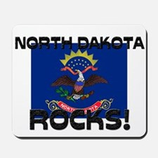 North Dakota Rocks! Mousepad