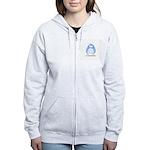 It is a Boy Penguin Women's Zip Hoodie