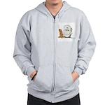 Eskimo Penguin Zip Hoodie