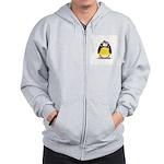 Flapper penguin Zip Hoodie