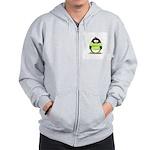 Geek penguin Zip Hoodie