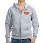 Addicted to Penguins Women's Zip Hoodie