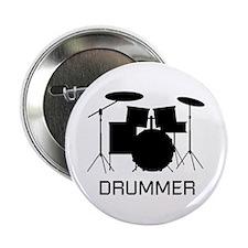 """Drummer 2.25"""" Button"""