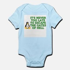 It's never too late Infant Bodysuit