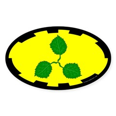 Caerthe populace Oval Sticker (10 pk)