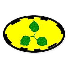 Caerthe populace Oval Sticker (50 pk)