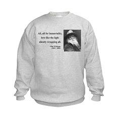 Walt Whitman 22 Sweatshirt