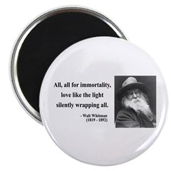Walt Whitman 22 Magnet