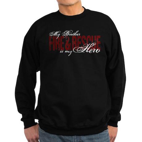 Brother My Hero - Fire & Rescue Sweatshirt (dark)