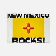 New Mexico Rocks! Rectangle Magnet